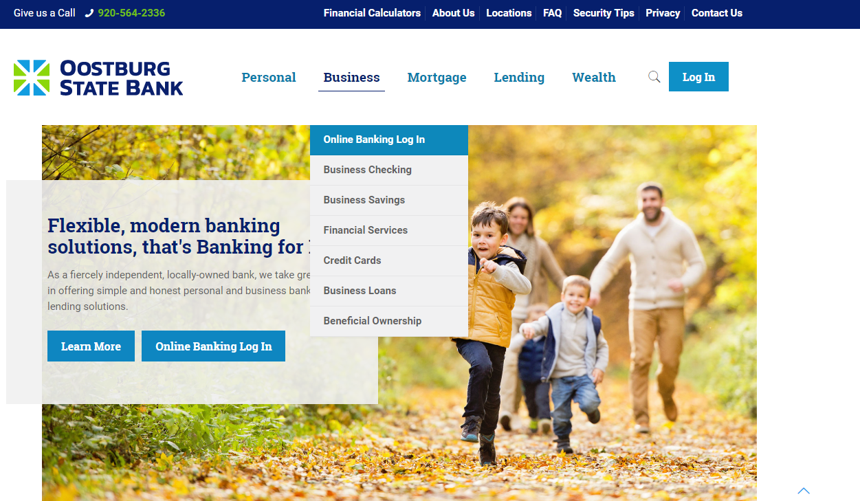 Online Business Banking Log in